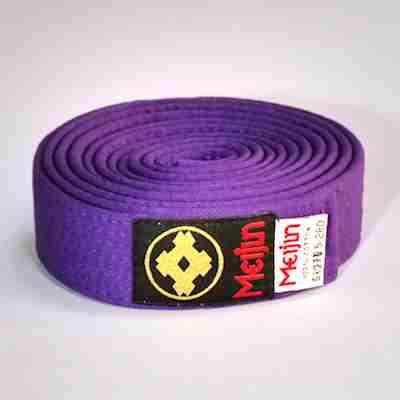 Meijin Colored Karate Belts