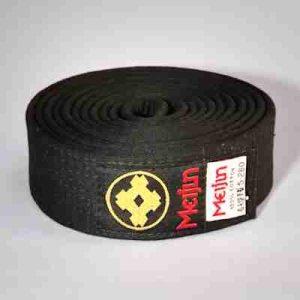 Meijin Silk Black Belt